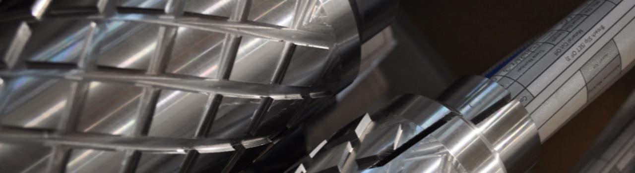 Close Up Of Diamond Broach Tool