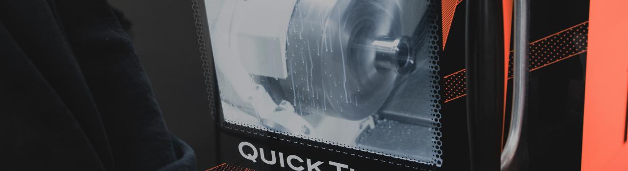 Mazak Quick Turn Machine In Use